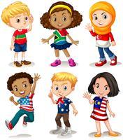 Barn från olika länder
