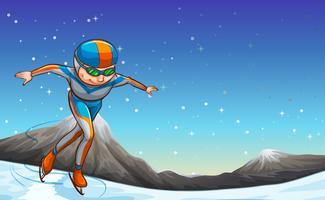 Eislaufen vektor