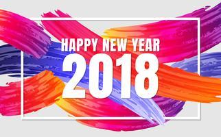 Guten Rutsch ins Neue Jahr-Hintergrund-Vektorhintergrund
