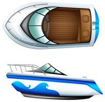 Ein Transportschiff vektor