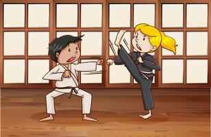 Kampfkunst vektor