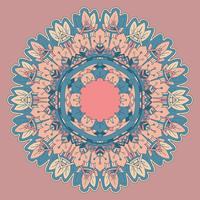Dekorativ mandala design vektor