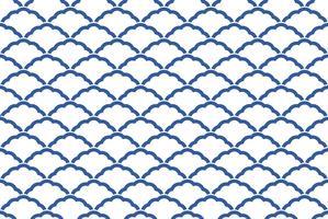 Japanisches traditionelles, nahtloses Muster. Horizontal und vertikal wiederholbar. vektor