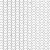 Vektor-einfache Linie nahtloses Muster