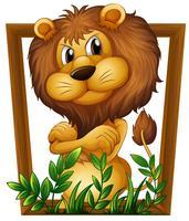 lejon vektor