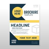 Geschäftsbroschüre Design vektor