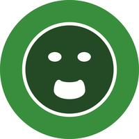 Schreien Emoji-Vektor-Symbol vektor