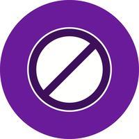 Vektor Kein Eintragssymbol