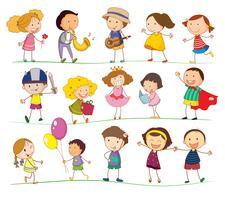 Blandade barn
