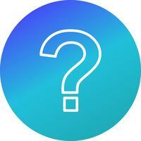 Fragezeichen-Vektor-Symbol