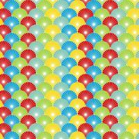 Seamless Ornamental Floral Pattern Bakgrund