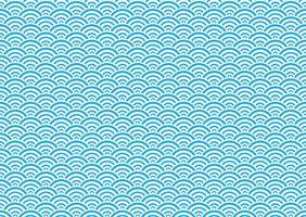 Japanskt traditionellt, sömlöst mönster. vektor