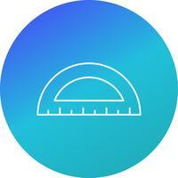 protractorvektorns ikon