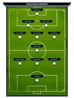 Grunge fotbollsplan