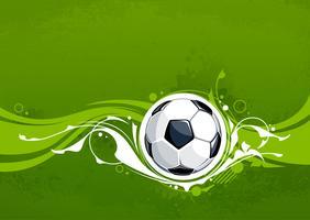 Grunge fotboll bakgrund