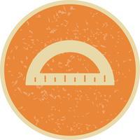 Winkelmesser-Vektor-Symbol vektor