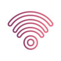 Wifi-Vektor-Symbol vektor