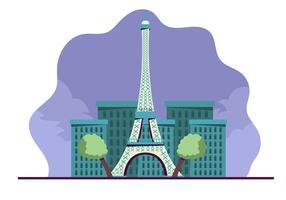 Paris bakgrund vektor