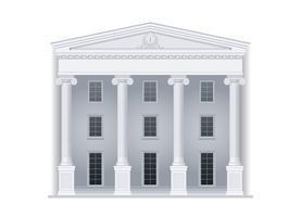 Gerichtsgebäude oder Institution