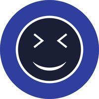 Wink Emoji-Vektor-Symbol vektor