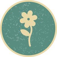 Blumen-Vektor-Symbol vektor