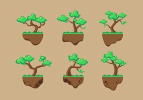 Baum Clipart Set Vektor