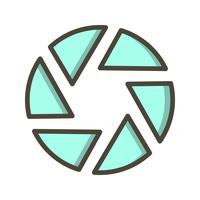 Verschluss-Vektor-Symbol vektor