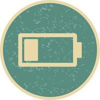 Niedrige Batterie-Vektor-Symbol vektor
