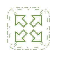Vollbild-Vektor-Symbol