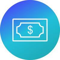 Dollar-Vektor-Symbol vektor