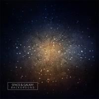 Galaxy universum hög kvalitet utrymme bakgrund vektor