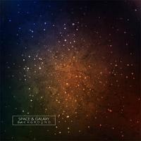 Galaxi i rymden Skönhet av universum färgstark bakgrund vektor