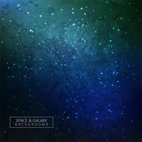 Galaxy Bakgrund Färgrik Design vektor