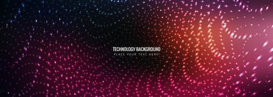 Abstrakter Technologie Banner Vorlage Vektor
