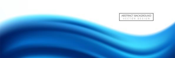 Schönes kreatives Wellenfahnenschablonendesign