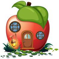 Apfelhaus mit Laterne