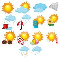 Väder ikoner