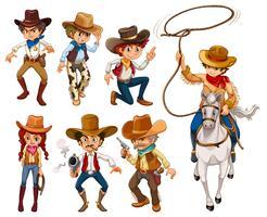 Cowboys vektor