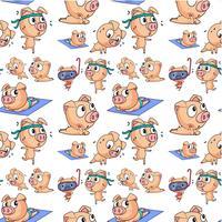 Nahtlose Schweine