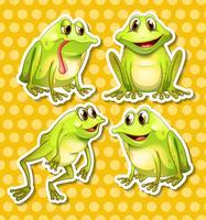 Frosch vektor