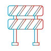 Linie Steigungs-perfekter Ikonen-Vektor oder Pigtogram Illustration