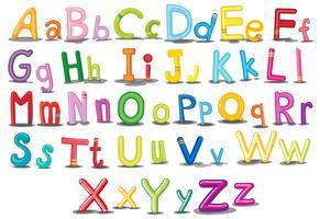 alfabet vektor
