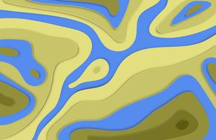 Papier schnitt bunten Hintergrund der Entlastung 3D mit Schatten für die Werbung, Vektorillustration