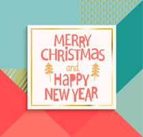 Gott nytt år och gott julkort.
