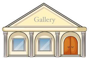 ett galleri vektor