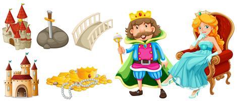 Märchenfiguren und andere Elemente