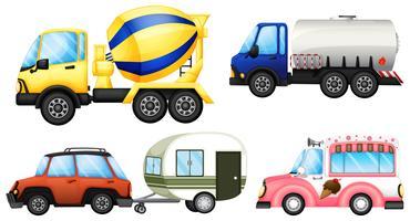 Användbara fordon vektor