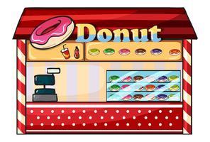 ein Donut-Shop