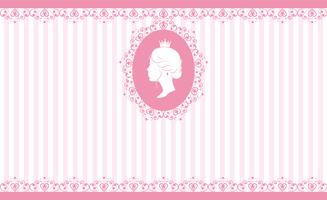 Vintage rosa Hintergrunddesign vektor