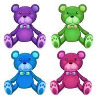 Teddybär vektor